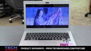 Sony Vaio 13.3 Inch T Series Ultrabook Video Review (HD)