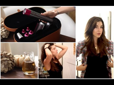 New hairstyle - NEW Dyson Hair Unboxing + DIY Fall Hair Treatments