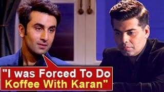 Ranbir Kapoor slammed Karan Johar's show Koffee With Karan. Watch the story. Report By: Abhishek Halder. Edited By: Ajay Mishra.Subscribe now and watch for more of Bollywood Entertainment Videos at http://www.youtube.com/subscription_center?add_user=bollywoodnowRegular Facebook Updates https://www.facebook.com/bollywoodnow.  Twitter Updates https://twitter.com/bollywoodnow  Follow us on Pinterest: https://pinterest.com/bollywoodnow  Follow us on Google+ : https://plus.google.com/+bollywoodnow