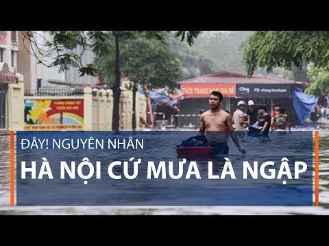 Đây! Nguyên nhân Hà Nội cứ mưa là ngập | VTC1 - Thời lượng: 6 phút, 46 giây.