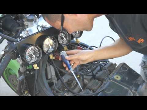 Tester pre synchronizáciu karburátora a meranie tlaku/vákua MG50504