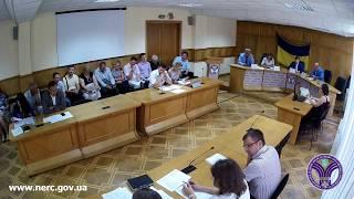 Відкрите засідання НКРЕКП 01-08-2017