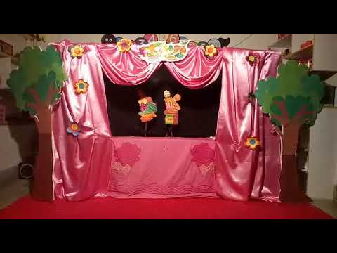 Story on healthy food habits (Puppet Show)