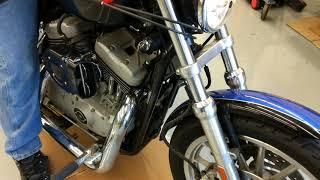 10. 2005 Harley Davidson Roadster 1200 shaking engine start up