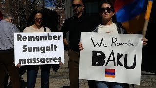 NY/NJ Armenians demand justice for victims of Baku and Sumgait pogroms