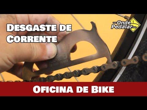 Como medir o desgaste de uma corrente de  bike