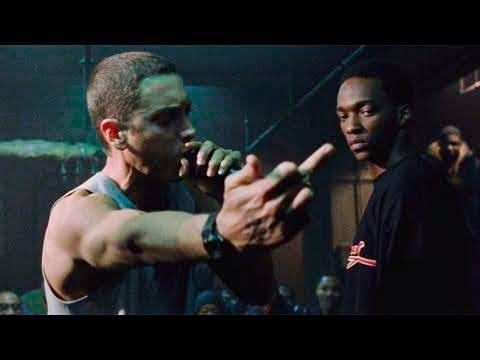 Eminem vs PapaDoc Sub Indo [HD] final Rap Battle 8 mile Part 3 End