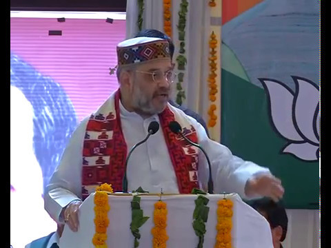 Shri Amit Shah addresses Intellectuals meet at Palampur, Himachal Pradesh: 04.05.2017