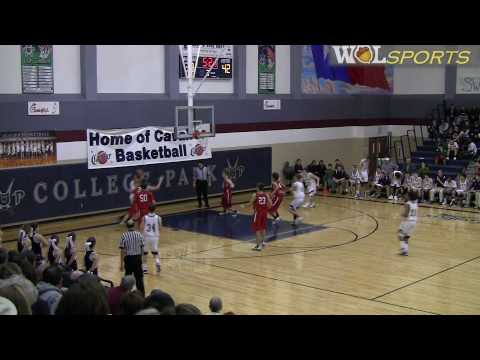 High School Men's Basketball Highlights: The Woodlands vs. College Park, 2010