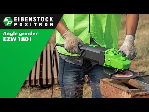 Powerful Angle Grinder Machine Video