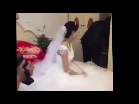Traditional small village wedding in China (видео)