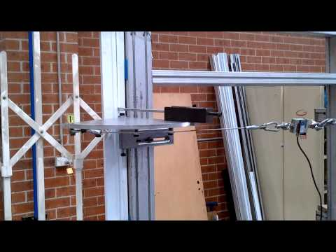 Australian Trellis Door Co. Jig-Based Jemmy Test