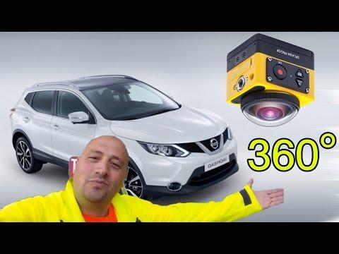 Car 360 gradi con Kodak pr nissan qashqai