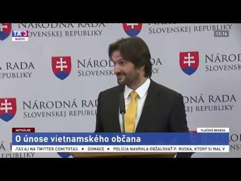 Kaliňák pre kauzu únosu Vietnamca zažaluje Kisku, na tlačovke sa hovorilo aj o klamstve Poliakom