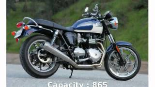 10. Triumph Bonneville SE Specification