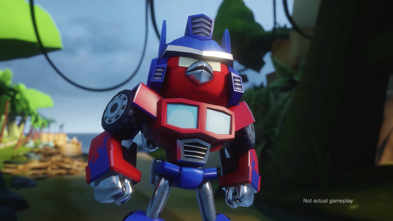 The 'Angry Birds Transformers' Comic Con Trailer is Pretty Gnarly