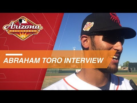 Video: Toro discusses his homer, 2-hit game in Fall League