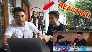 Video Kepergok Reaction Demian Aditya di America's Got Talent - 2nd Performance MP3, 3GP, MP4, WEBM, AVI, FLV Februari 2019