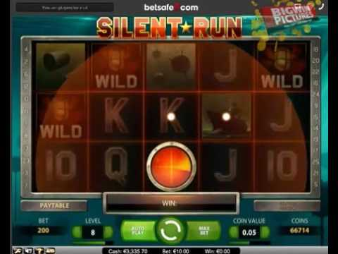 Silent Run Slot - Echo Wild Bonus 1468€ Big Win!