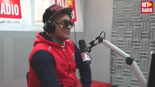 DJ Hamida dans le Morning de Momo sur HIT RADIO - 28/01/15