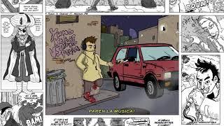 Ya está disponible el álbum del cómic «Yung Keras VS La Hip Hop Police»