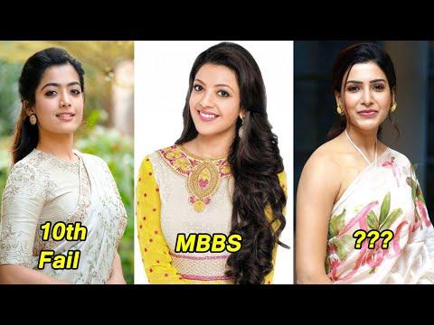 Shocking Education of Tollywood Actress  Samantha,Tamannah,kajal agarwal,Pooja Hegde.SaiPallavi