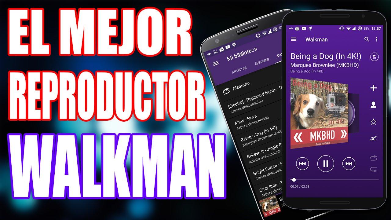 Descargar El Mejor Reproductor de Música para Android 2015: WALKMAN (Descarga .apk) para celular #Android
