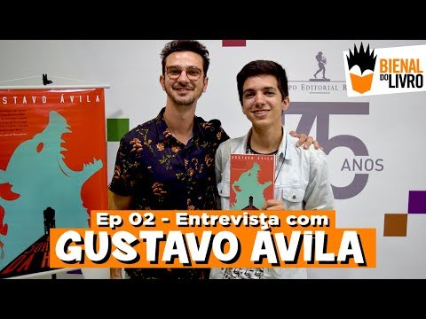 Bienal do Livro - Entrevista com Gustavo Ávila   #02   Bienal do Livro Rio 2017