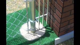 Video Keep your Pets & Children Safe in the fence in yard!! With the Fence End Spacer MP3, 3GP, MP4, WEBM, AVI, FLV Agustus 2018