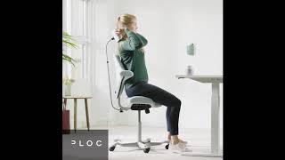 Ergonomická židle HAG Capisco