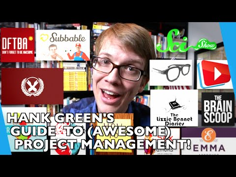 how to - In which Hank Green tells you his life hacks for how to manage projects, overcome procrastination, and make life more awesomely productive! If you enjoy this video and have a Tumblr, please...