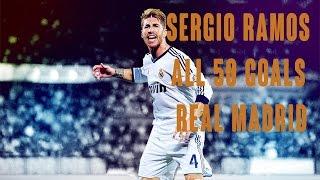 Sergio Ramos und seine 50 Tore für Real (2005-2015)