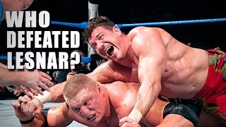 image of 5 Superstars who beat Brock Lesnar - 5 Things