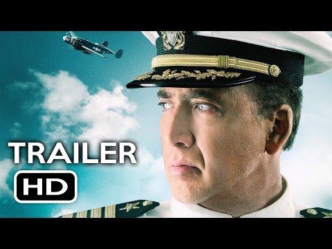 USS Indianapolis: Men of Courage Official Trailer #1 (2016) Nicolas Cage Action Movie HD