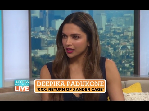 Deepika Padukone Interview • Access Hollywood | xXx Return of Xander Cage