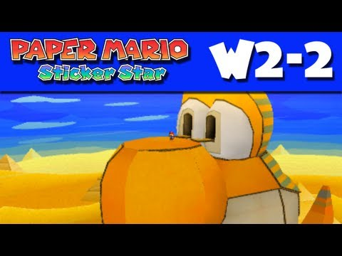 Yoshi - Thanks for every Like and Favorite! They really help! This is W2-2 of my Paper Mario Sticker Star Gameplay Walkthrough for the Nintendo 3DS! I'm ZackScott! S...