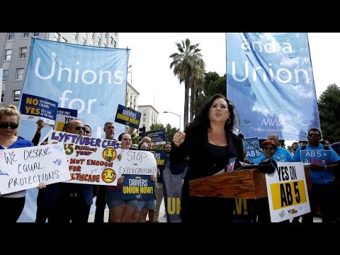 USA: Kalifornien zwingt Uber und Co. zu höheren sozia ...