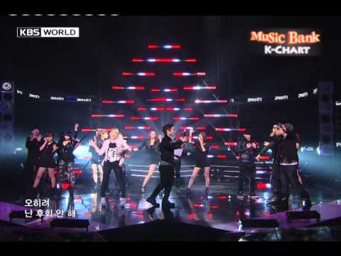 [Music Bank K-Chart] 2NE1 - Go Away (2010/9/24)