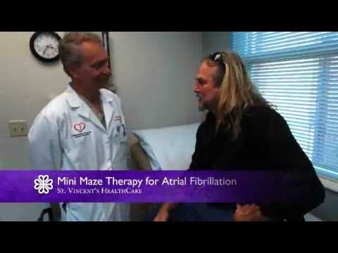Mini Maze Therapy for Atrial Fibrillation | St. Vincent's HealthCare