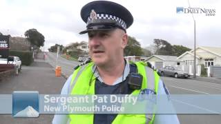New Plymouth New Zealand  city images : Police stop New Plymouth, New Zealand