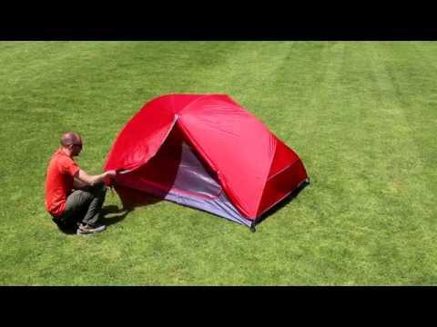 Відео демонстрація намету Ferrino Atom 2 Red
