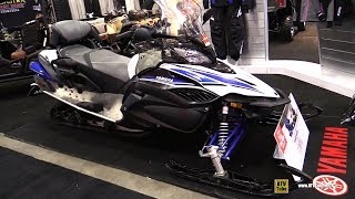1. 2018 Yamaha RS Venture TF Sled - Walkaround - 2017 Toronto Snowmobile ATV Show