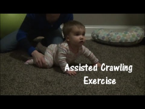 Assisted Crawling Exercise: Gross Motor Skill Development