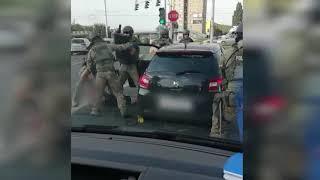 Widowiskowe zatrzymanie w Lublinie