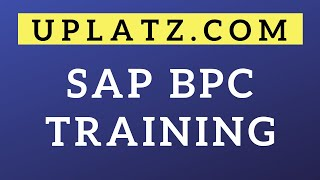 Overview | SAP BPC | SAP Business Planning and Consolidation Training Tutorial Certification Course