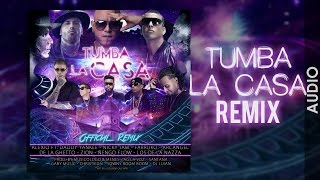 Video ALEXIO - Tumba La Casa Remix ft. Daddy, Nicky Jam, Arcangel, Ñengo Flow, Zion, Farruko, De la Ghetto MP3, 3GP, MP4, WEBM, AVI, FLV September 2019