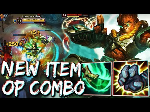 NEW ITEM IS INSANE ON WUKONG ! SPEAR OF SHOJIN MAKE YOU TANKY FOR GOING FULL DAMAGE ! NEXUS BLITZ 2