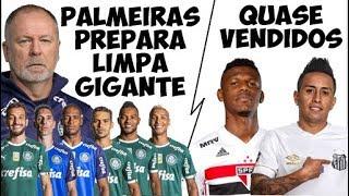 Palmeiras prepara lista de dispensas / Ofertas por Arboleda e Cueva / Nico López de saída