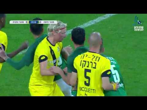מחזור 24 | המשחק המלא: מכבי חיפה - מכבי נתניה 2:1