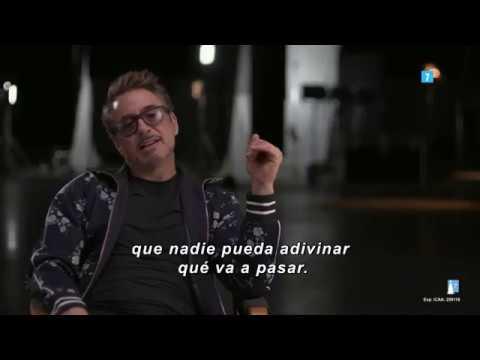 "Vengadores: Endgame - Making of ""Mejor Momento""?>"